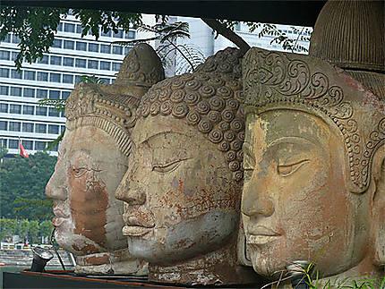 Statues bouddha