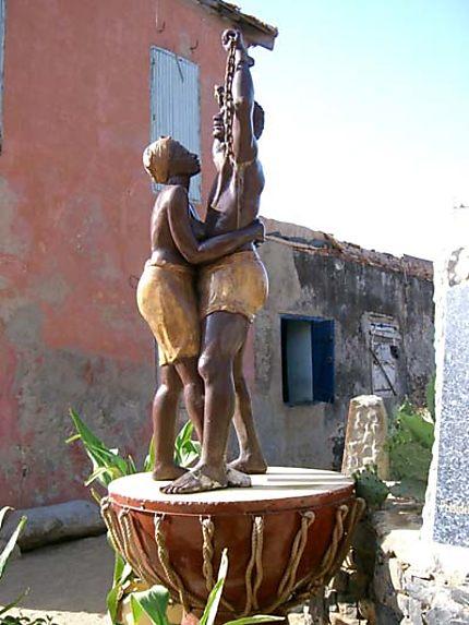 Gorée hommage aux esclaves