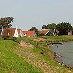 Vue sur Uitdam (Waterland)