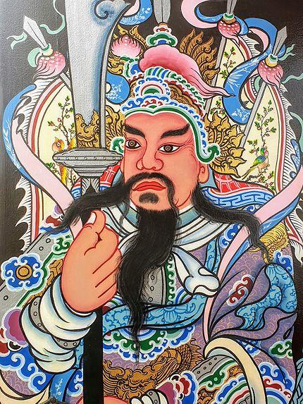 Magnifique gravure thaï