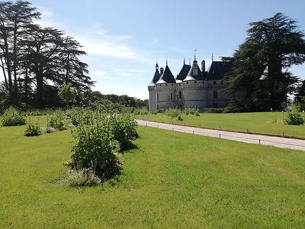 Jardin du château de Chaumont-sur-Loire