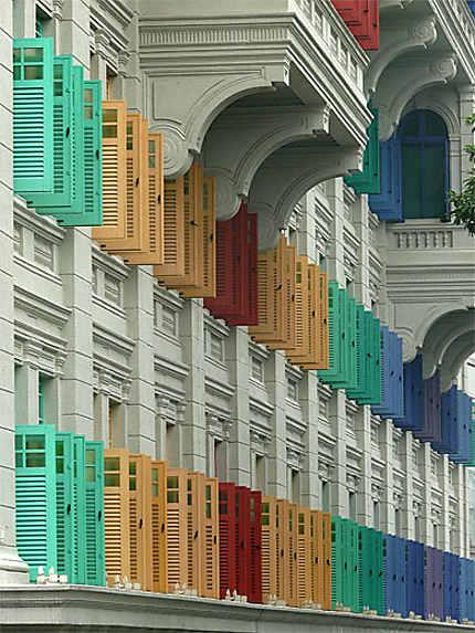 Fenêtres colorées