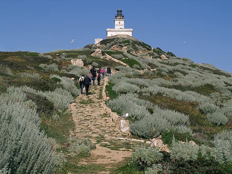 Îles Sanguinaires – Pointe de la Parata (Corse)