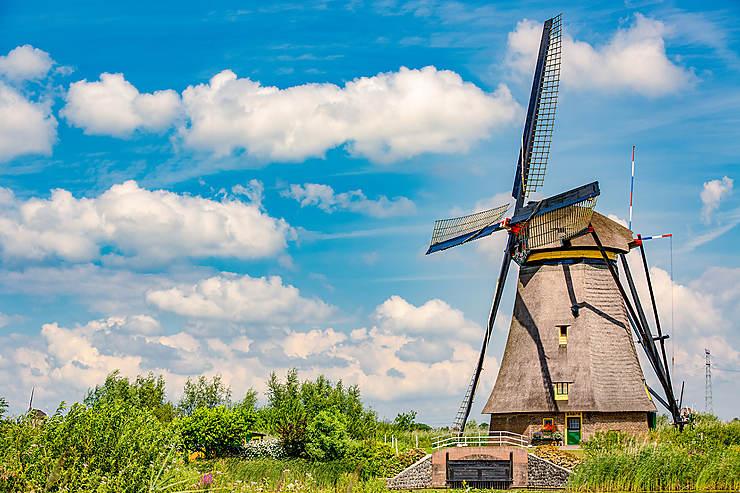 Les moulins à vent de Kinderdijk