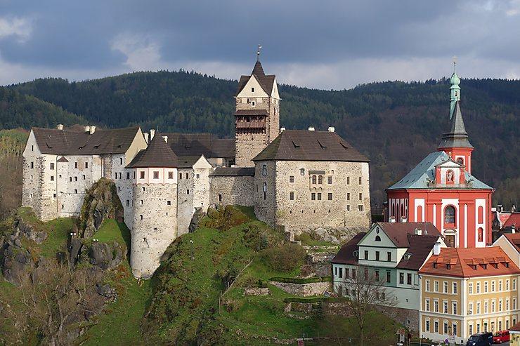 Château de Loket, République Tchèque