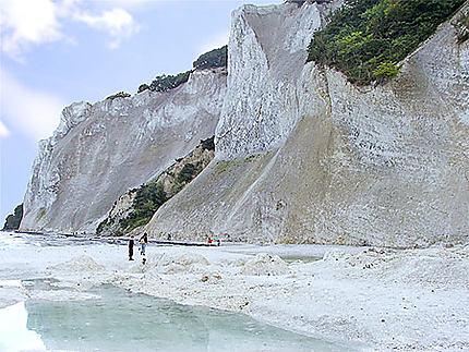 Falaises de calcaire