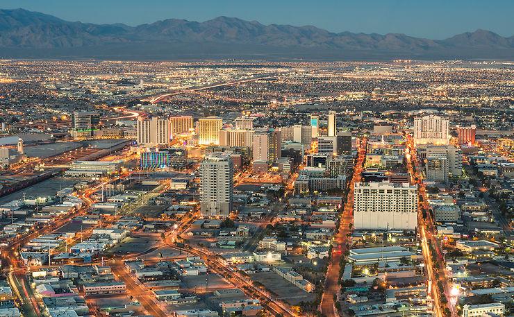 Las Vegas et la Valley of Fire (Nevada)