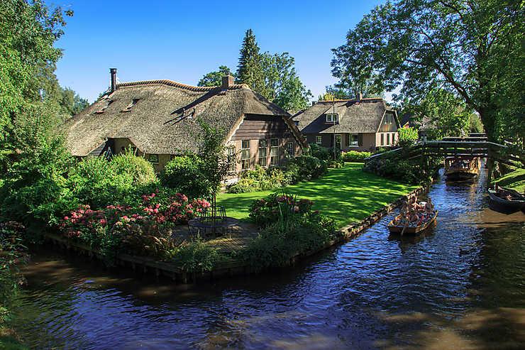 Giethoorn, le village aux 170 ponts