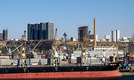Le port d'Oran