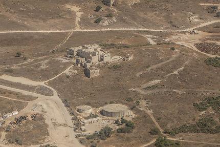 Ruines d'un château à Tel Aviv