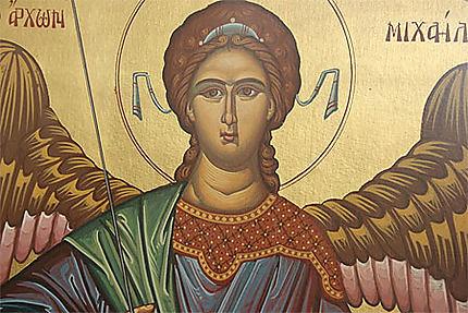 Icône du monastère de Panormitis
