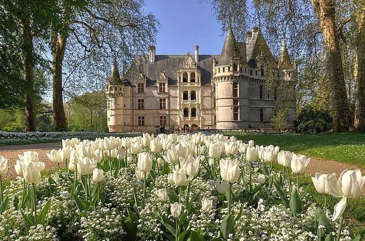 Château d'Azay le Rideau, Indre-et-Loire