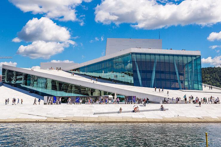 Une soirée à l'opéra d'Oslo