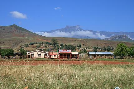 Village dans le Drakensberg