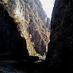 Les gorges à Targu Jiu