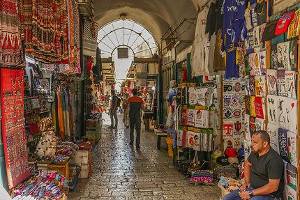 Le souk de la vieille ville de Jérusalem