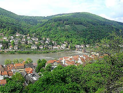 Vue du château d'Heidelberg
