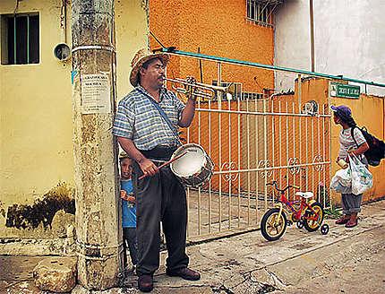 Le musicien ambulant