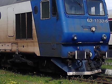 Trains en Roumanie