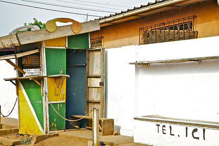 La cabine téléphonique de Togoville