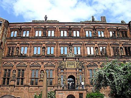 Bout du château d'Heidelberg