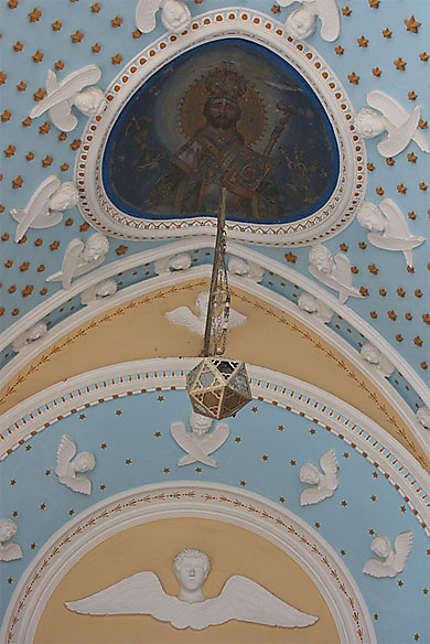 Plafond de l'entrée du monastère