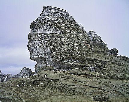 Montagnes Bucegi - Le sphynx des Carpates