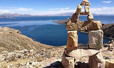 Isla del Sol (sur le lac Titicaca)
