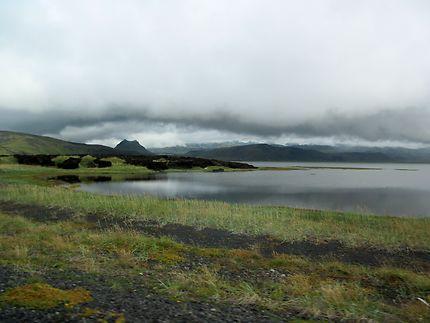 Paysage islandais prés de Vik