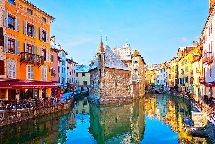 Annecy et son lac, magnifique Savoie