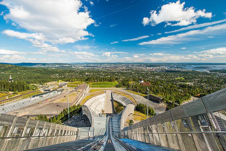La forêt aux portes d'Oslo