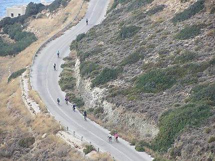 Cyclisme de Naxos à Apollon!