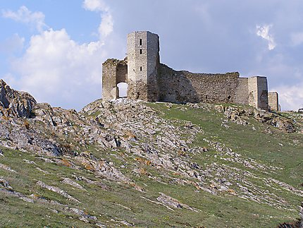 Enisala - Les ruines de la forteresse médiévale