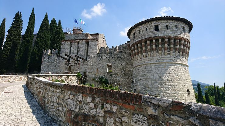 Château de Brescia, Italie