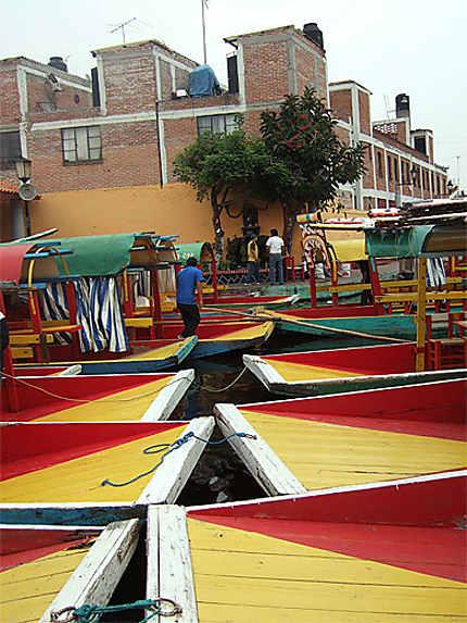 Barques à Xochimilco