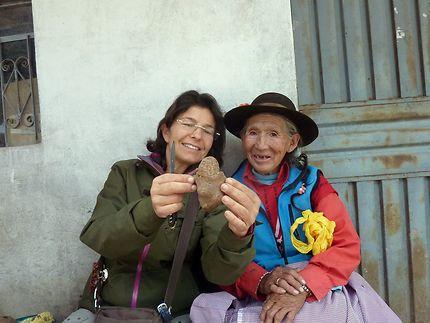 La pomme de terre, reine du Pérou