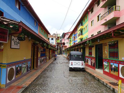 Les rues colorées de Guatape