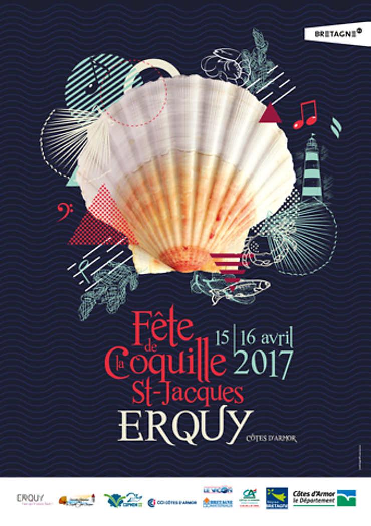 Fête de la coquille Saint-Jacques à Saint-Quay-Portrieux