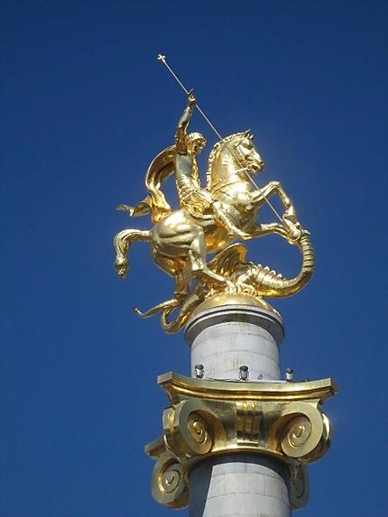 Saint George terrassant le dragon