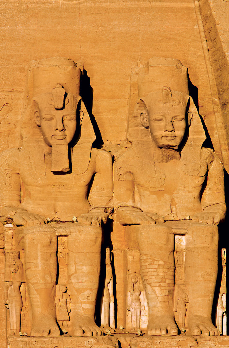 Le Caire, les pyramides et le Sphinx de Gizeh