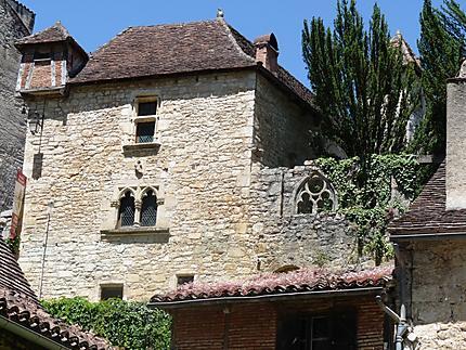 Maison ancienne de Saint Cirq-Lapopie