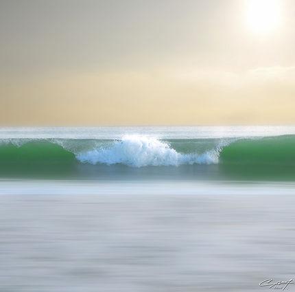La douceur de la vague