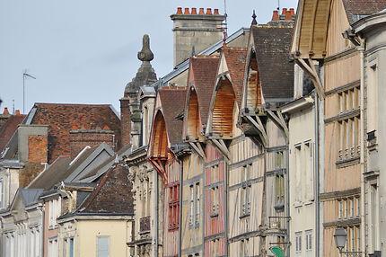 Belles façades de Troyes