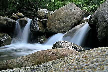 Cascades sur la Sandanska - Massif du Pirin
