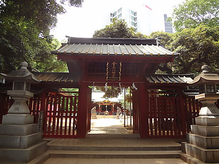 Un temple shintoiste en plein coeur de Shibuya