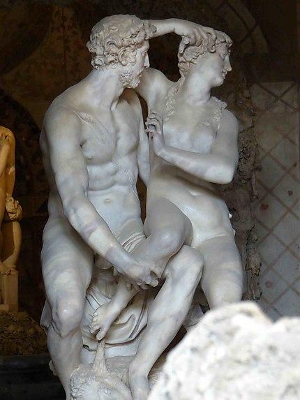 Grotte de  Buontalenti - Palais Pitti - Statues