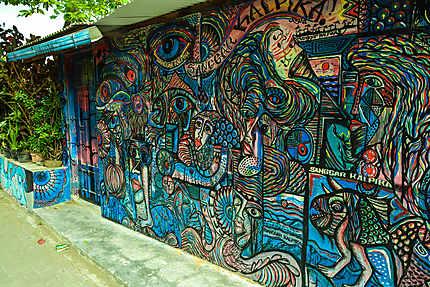 Street Art à Yogyakarta