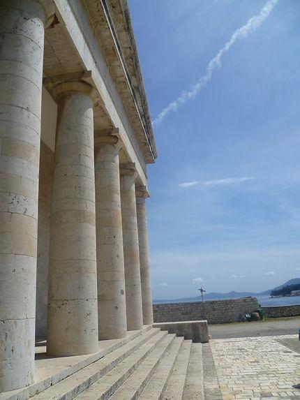 Temple de la forteresse de Corfou - Kerkyra