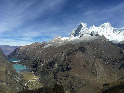 Route à Huascarán, Pérou