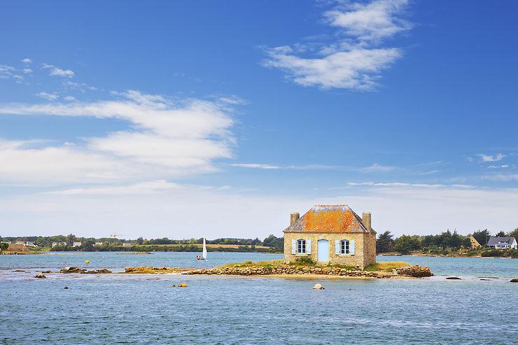 Saint-Cado, l'île-carte-postale